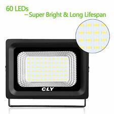 CLY 60LED Super Bright Solar Motion Sensor Flood Light 10606001-DW