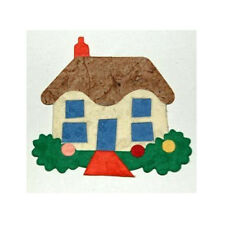 4 x Home Sweet Home-Mulberry Paper Abbellimento muoiono tagli-Card o Artigianato