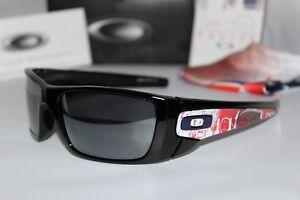 New Oakley Fuel Cell London Olympics Polished Black/Black Iridium OO9096-58