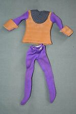 Vintage Mego Planet of the Apes General Ursus Clothes Set Clothing Tunic Pants