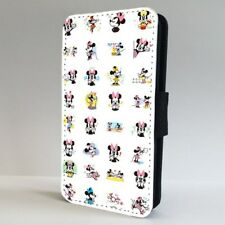Minnie Mouse Disney Amazing Pattern FLIP PHONE CASE COVER for IPHONE SAMSUNG