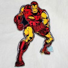"""Marvel Iron Man Embroidered Big Patch for Back Comics Avengers Tony Stark 12"""""""