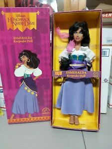 "Disney's The Hunchback of Notre Dame 15""(?)  ESMERALDA Keepsake Doll Applause"