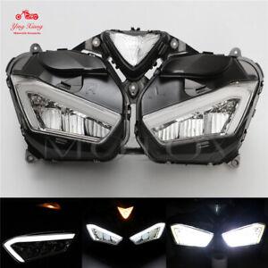 Led HeadLight Assembly Headlamp fit for 2013-2018 Yamaha YZF-R3 YZF-R25