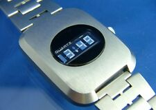 Vintage Epsa-Optel Dynamic Scattering DSM Quartz LCD Digital Watch 70s NOS
