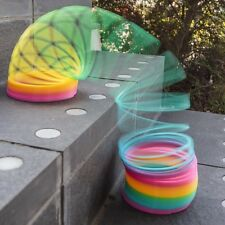 Giant Rainbow Springy Toy - Walks Down Stairs! Great Fun For Kids Birthday