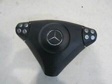 MERCEDES C CLASS W203 COUPE 2005 STEERING WHEEL DRIVER AIRBAG REF 27C03