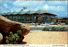 ARUBA ~1970 Flughafen Princess Beatrix Int. Airport Caribbean Karibik Postkarte
