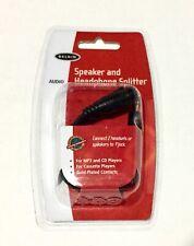 Belkin Headphone Splitter For Speaker & Headphones 3.5 mm AUX Audio Cable 🎧