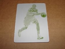 2014-15 Immaculate BRADLEY BEAL #24 Yellow Printing Plate 1/1 WIZARDS - Gators