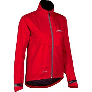 dhb EQ 2.5 Waterproof Cycling Women's Jacket Hi Viz Breathable Size UK 10