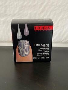 Pupa Nail Art Kit 994 Silver Grey Violet New in Box