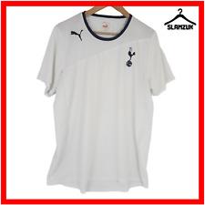 Tottenham Hotspur Football Shirt Puma XL Training Soccer Jersey White 2011