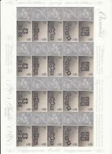 GB GENERIC SHEETS UNUSED - 2001 OCCASIONS LS4