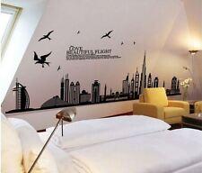 Removable DIY Art Wall Decals Dubai City Turkey Sticker Home Room Decor Vinyl