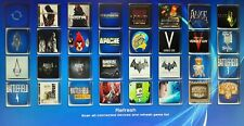 PS3 JAILBROKEN MODDED CUSTOM 2 TB EXTERNAL HARD DRIVE 200 GAMES MULTIMAN LOOK!!!