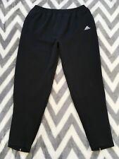 Adidas Mens Black  Zip Leg Track Pants Soccer Workout Athletic Size XL ribbed