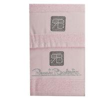 asciugamani 1+1 Renato Balestra - Crystal (rosa)