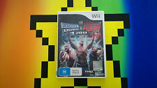 NES NINTENDO WII SMACK DOWN VS RAW 2011 VIDEOGAME VIDEO GAME FREE POSTAGE U