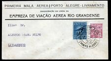 Brasilien Varig V 16, auf Luftpost-Brief Porto Alegre 19.4.32