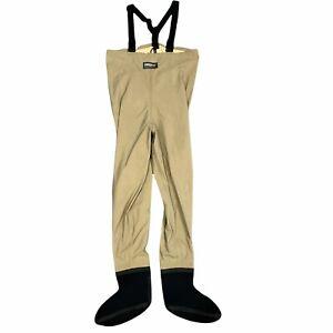 Hodgman Fishing Waders Bib Men's Size M Waterproof Nylon Suspender Overalls