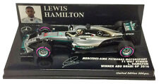 Minichamps Mercedes W07 Winner Abu Dhabi GP 2016 - Lewis Hamilton 1/43 Scale