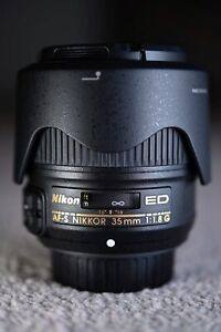 Nikon NIKKOR AF-S 35mm f/1.8 SWM AS FX ED Lens - Beautiful.