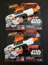 2 New Nerf Star Wars The Force Awakens First Order Stormtrooper Blaster ~ Hasbro