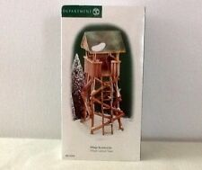 DEPT. 56 VILLAGE ACCESSORIES VILLAGE LOOKOUT TOWER 1999