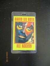 David Lee Roth All Access Laminate