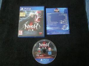 PS4 : NIOH - Completo, ITA ! Prima stampa! CONSEGNA IN 24/48H !