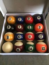 Miniature Small Mini Pool Balls 1-1/2""