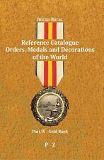 ORDER, MEDAL, DECORATION, CATALOGUE - Borna Barac: Reference Catalogue Part 4