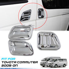 COVER HANDLE BOWL 3 DOORS CHROME TRIM VAN FOR TOYOTA HIACE COMMUTER 2005-ON