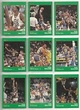 Karl Malone 1990 Star Company Gold Edition Utah Jazz 9-card NBA Set #/1500