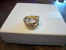 Authentic Cartier 18k Gold Tri-Color Trinity Ring or Band
