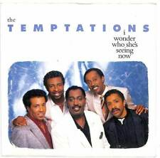 """The Temptations - I Wonder Who She's Seeing Now - 7"""" Record Single"""