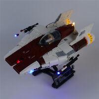 LED Licht Set Für 75275 LEGO Star Wars A wing Starfighter Kit (mit Anleitung)