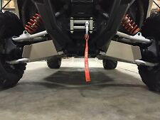 """MADE IN USA POLARIS RZR S 900 2015-2019 60/"""" FRONT A-ARM GUARDS 1//8/"""" ALUMINUM"""