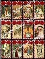 Set of 24 Gift/Hang Tags-Christmas-Gift Tags-Scrapbook's-Cards