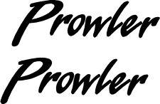 2 pc Fleetwood Prowler Camper RV Vinyl Decal Stickers Camper Graphics 5x16