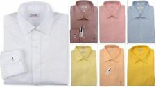 Cotton Button Cuff Easy Iron Regular Formal Shirts for Men
