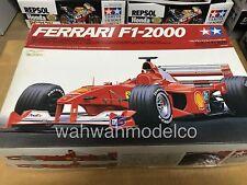 Tamiya 20048 1/20 Model Formula One Car Ferrari F1-2000 M.Schumacher/Barrichello