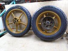 Yamaha 1000 XV Virago XV1000 Front Rear Wheel Set 1984 YB300 YW60&61