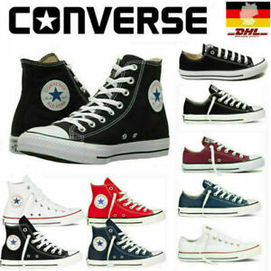 Converse Unisex Chuck Taylor Classic All-Star Low High Canvas Turnschuhe Sneaker