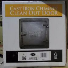 United States Stove Chimney Cleanout Doors 8 in. x 8 in.