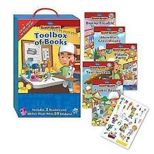 Toolbox of Books [With Sticker(s)] (Disney Handy Manny), Ring, Susan   Paperback