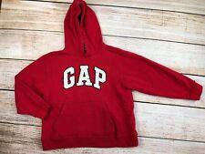 Boys Gap Read Heavy Hoodie Long Sleeve Sweatshirt Distressed M 8
