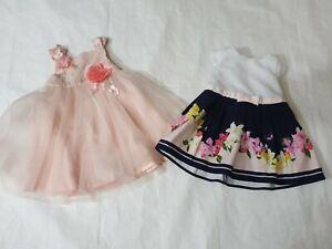 0-3 months girls summer dress bundle Ted baker Monsoon (2)