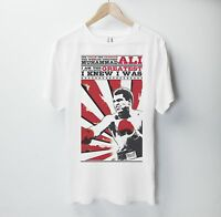 Muhammad Ali T Shirt Boxing Team Box UFC Gym Training MMA Mike Tyson Fury Poster